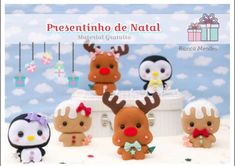 Cris Silva Christmas Crafts, Christmas Decorations, Christmas Ornaments, Christmas Tree, Felt Crafts, Crafts To Make, New Year's Food, Christmas Accessories, Cute Images