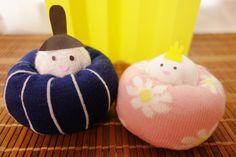 かわいいひな祭りクラフト〜靴下で作れちゃうおひなさま   季節の工作アイデア集- こうさくポケット