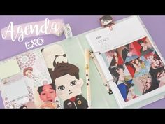 DIY K-POP :  AGENDA  EXO 2017 - YouTube