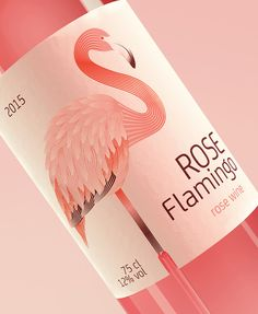 Rose Flamingo (Concept) on Packaging of the World - Creative Package Design Gallery