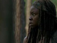 The Walking Dead temporada 6: Michonne se impacta al final del episodio, ¿quién activó la alarma?