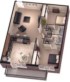 Resultado de imagen para diseño planos de casas adosadas
