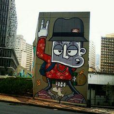 Graffiti byCHIVITZ.Sao Paulo, Brazil. #webstagram@Wαgnєr Ríσs