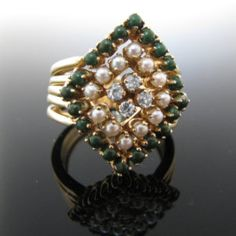 #Diamond and #Pearl #Ring #Jewelry #The #Antiques #Room #Galway #Ireland Pearl Ring, Pearl Jewelry, Diamond Rings, Diamond Engagement Rings, Unique Vintage, Galway Ireland, Pearls, Antiques, Bracelets