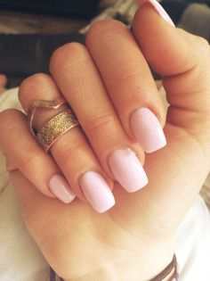 Cute pastel pink nails for spring Perfect Nails, Gorgeous Nails, Love Nails, How To Do Nails, Pretty Nails, My Nails, Coffin Nails, Acrylic Nails, Stiletto Nails