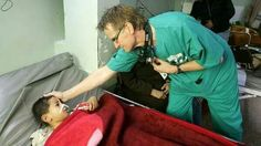 Dr. Mads Gilbert has been banned for life from entering Gaza by the Isreali Government. By helping to save Palestinian childrens' lives he is a threat to their brutal regime! Shame on them.