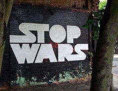Stop Wars / Star Wars