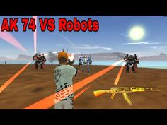 Ak - 74 Vs Strongest Robots In vegas crime simulator video hindi | who won? - YouTube Robot Videos, Ak 74, Who Will Win, Robots, Vegas, Crime, How To Find Out, Strong, Entertaining