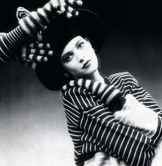 Sonia Rykiel, American Vogue, August 1987. Photograph by Dominique Issermann.