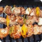 Cook juicy, tender kabobs, pork chops, and pork tenderloin on the grill with these tips.