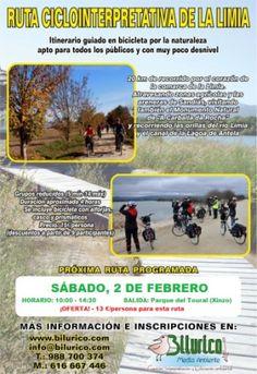 Ruta ciclointerpretativa da Limia @ Xinzo (Ourense) cicloturismo observacion de…