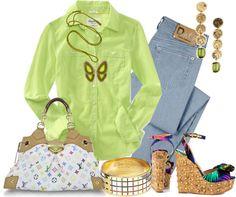 Outfits de Moda ...Me Tomo Cinco Minutos: NEÓN Y FLUO