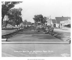Wornal Road Paving Crew #Kansas #City 1952