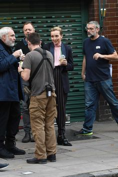 Jodie Comer On set of 'Killing Eve' Series filming in London Jodie Comer, Beautiful Person, On Set, My Sunshine, Celebrity Pictures, Behind The Scenes, Eve, Actresses, London