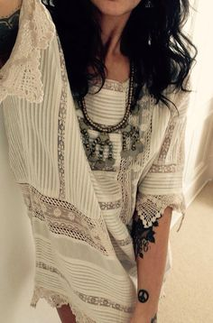 Fashion stylist Shelina Somani adds a touch of ethnic to CHARLOTTE tunic - http://www.kireiclothing.com