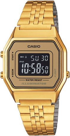 Casio LA680WGA-9BDF Kol Saati - https://www.saatler.com/casio-la680wga-9bdf-kol-saati/ - #casio #saatler Casio Retro LA680WGA-9BDF Kol Saati   Cinsiyet: Bayan Kasa Cinsi: Plastik