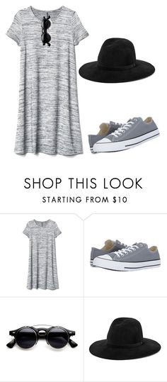 """""""Untitled #198"""" by crissgab12 ❤ liked on Polyvore featuring Gap, Converse and rag & bone"""