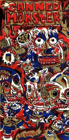 """Canned Monster"" par Stéphane Blanquet"