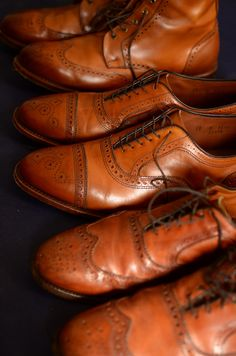 Brown Wingtips are so great!!!! Once you break them in, whoa! Alden, Churches Bruno Magli and Cole Haan are my go to's!