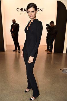 ff3edeab Model Isabeli Fontana attends the Chiara Boni La Petite Robe front row  during New York Fashion