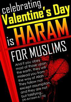 celebrating valentine's day is haram