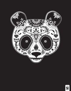 WWF presenta calaveras mexicanas para honrar a los animales en peligro de extinción #DayoftheDead #DíadelosMuertos
