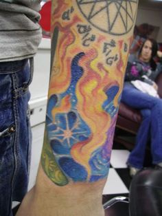 When it comes to the celestial tattoos, there are so many varieties to subject matter and meanings that they have a huge global audience. Arm Tattoos, Sleeve Tattoos, Celestial Tattoo, Some Body, Tattoos With Meaning, Meant To Be, Things To Come, Ink, Creative