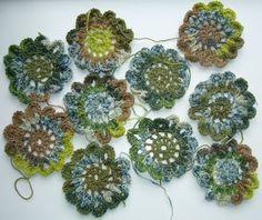 Sjaal van bloemen