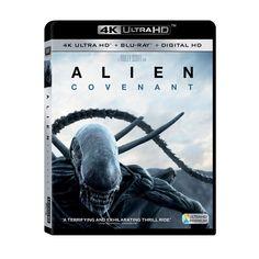 Alien: Covenant (4K/Uhd + Blu-ray + Dvd + Digital)