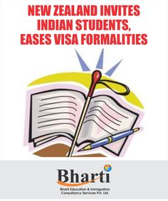 New Zealand invites Indian Students, Eases visa Formalities. For Immigration, contact Bharti Immigration Get more info @ http://bhartigroup.in/ ‪#‎bharti‬ ‪#‎immigration‬ ‪#‎Bhartiimmigration‬ ‪#‎chandigarh‬ ‪#‎bestimmigrationConsultancy‬ ‪#‎studyvisa‬ ‪#‎study‬ ‪#‎visa‬ ‪#‎abroad‬ ‪#‎touristvisa‬ ‪#‎businessvisa‬ ‪#‎america‬ ‪#‎Australia‬ ‪#‎abroadvisa‬ ‪#‎newzeland‬ ‪#‎immigrationservices‬ ‪#‎studyabroad‬ ‪#‎visaservice‬ ‪#‎visaconsultant‬ ‪#‎number1‬ ‪#‎company‬ ‪#‎best‬ ‪#‎mohali‬ ‪#‎US‬