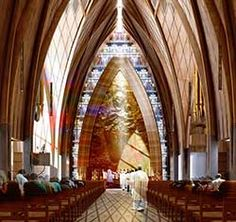 Option 3 interior for Christchurch cathedral