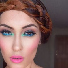 Look of the Week - Colorful Makeup - Makeup Magic