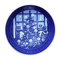 These Blue Danish CHRISTMAS PLATES are and have been collected for over 100 years. Each year a new one. All Scandinavians have them, & like them -- they show our Joint History.