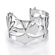 BIRKS NEEDLEFISH® Collection by ESTY, Cuff Bracelet in Sterling Silver