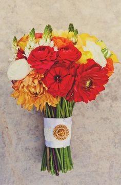 red, yellow, orange bouquet