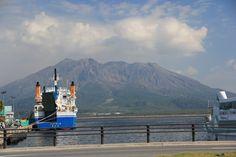 Kagoshima_Yakushima 20131025-28 Good Bye Sakura-jima.