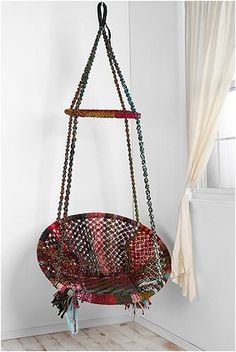 I want to be hippie enough to have one of this in my home...
