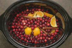 DIY Christmas cranberry and vanilla potpourri