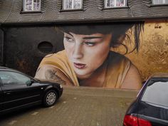 Streetart Trier, Exhaus #analogMensch