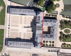 Palacio de Aranjuez, between Madrid and Toledo, Spain.  369 ft.