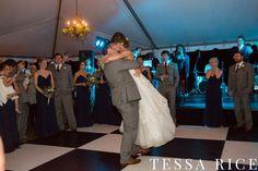 Sweet Meadow, West Georgia Wedding Venue First Dance Photo: Tessa Rice