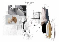 Fashion Illustration Collage, Fashion Collage, Sketchbook Layout, Fashion Design Sketchbook, Royal College Of Art, Fashion Portfolio, Sketch Design, Layout Inspiration, Fashion Books
