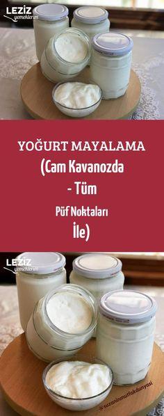Yoğurt Mayalama (Cam Kavanozda - Tüm Püf Noktaları İle)