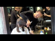 Kenneth Siu Haircut 38 - Layers for Wavy Long Hair Hair Cutting Videos, Cutting Hair, Long Layered Haircuts, Sally Beauty, Long Wavy Hair, Beauty Queens, Cosmetology, Cut And Color, New Hair