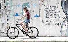 Arte urbana e andar de bike se tornam Substâncias mutáveis