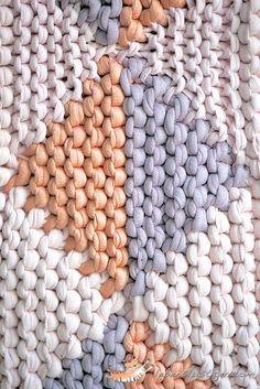 working with fabric yarn