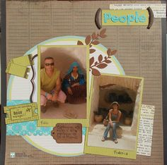 layout scrapbooking