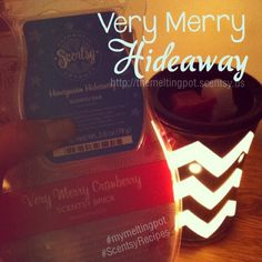 I can't get enough of my newest Scentsy recipe - Very Merry Cranberry & Honeymoon Hideaway.  So smooth, so sweet and gives the perfect holiday scent! #scentsyrecipe #scentsy