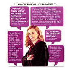 Harry Potter Facts and Quotes ❤ liked on Polyvore: You know you read these quotes in Hermione's voice ;)