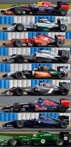 2014 Formula 1. A new era of the sport! So many changes! Will F1 survive this season?